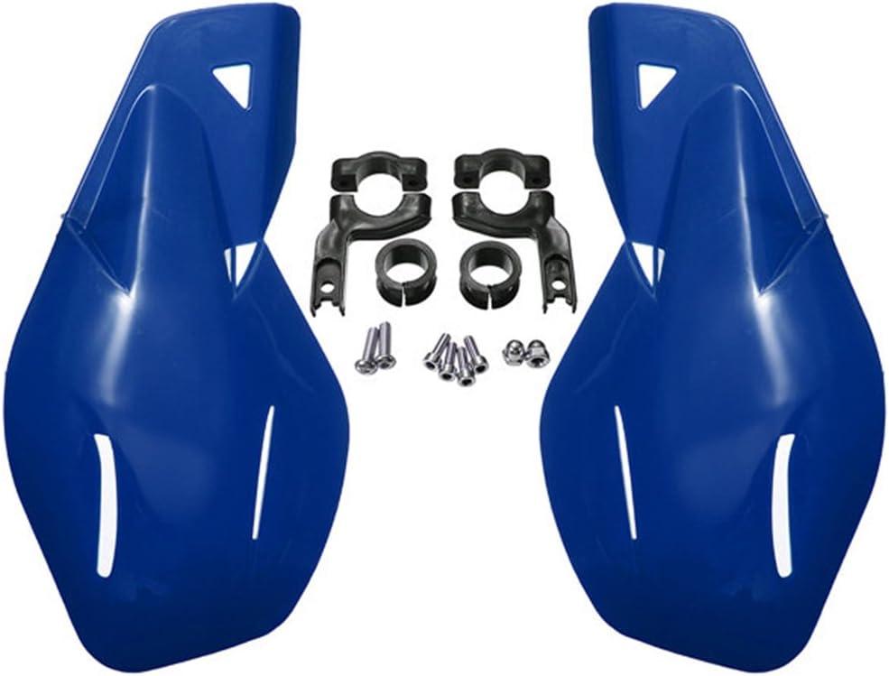 Anna822 Universal 7//8LED Handguard Handschutz Motorrad Pit Dirt Bike Neu Blau