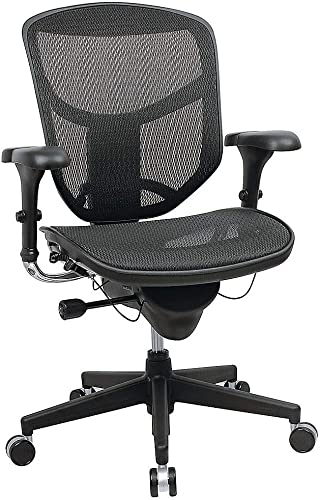 WorkPro R Quantum 9000 Series Ergonomic Mid-Back Mesh/Fabric Chair