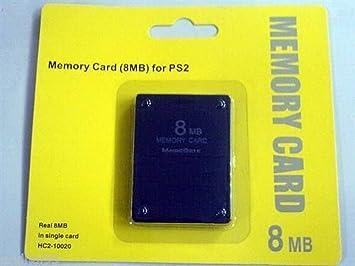 Divers PS2 Memory Card 8 Mo: Amazon.es: Informática