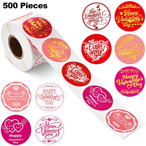 Valentine's Day Stickers Happy New Year Stickers Thank You Seal Stickers Inspirational Quote Stickers Snowflake Label…