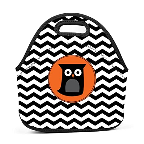 amazon halloween owl neoprene lunch tote thick insulated lunch Bag of Seeds amazon halloween owl neoprene lunch tote thick insulated lunch bag portable thermal lunchbox waterproof outdoor picnic travel holiday handbag with