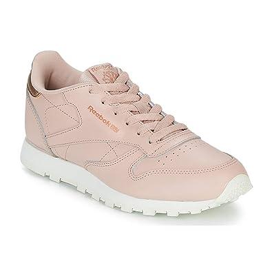 Reebok Classic Leather, Zapatillas de Deporte para Mujer: Amazon.es: Zapatos y complementos