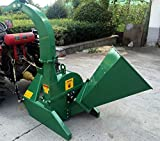4''x10'' PTO Tractor Wood Chipper Shredder BX42S GREEN 540-1000 RPM