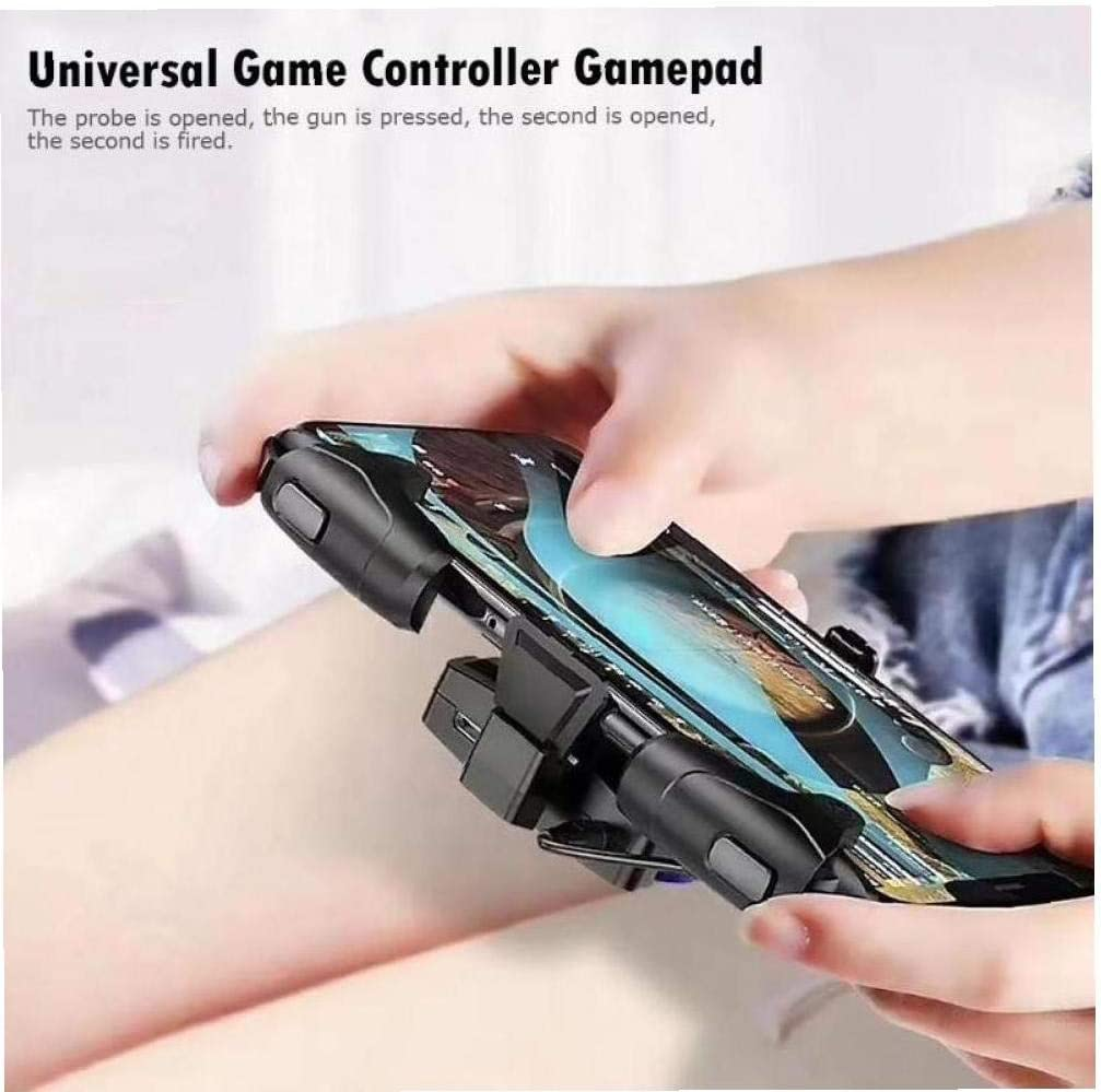 Handy Spiel Trigger-Controller F/ür Pubg Trigger-Feuer-knopf Ziel Key L1r1 Shooter Handy Gamepad Phone Shooter Joystick