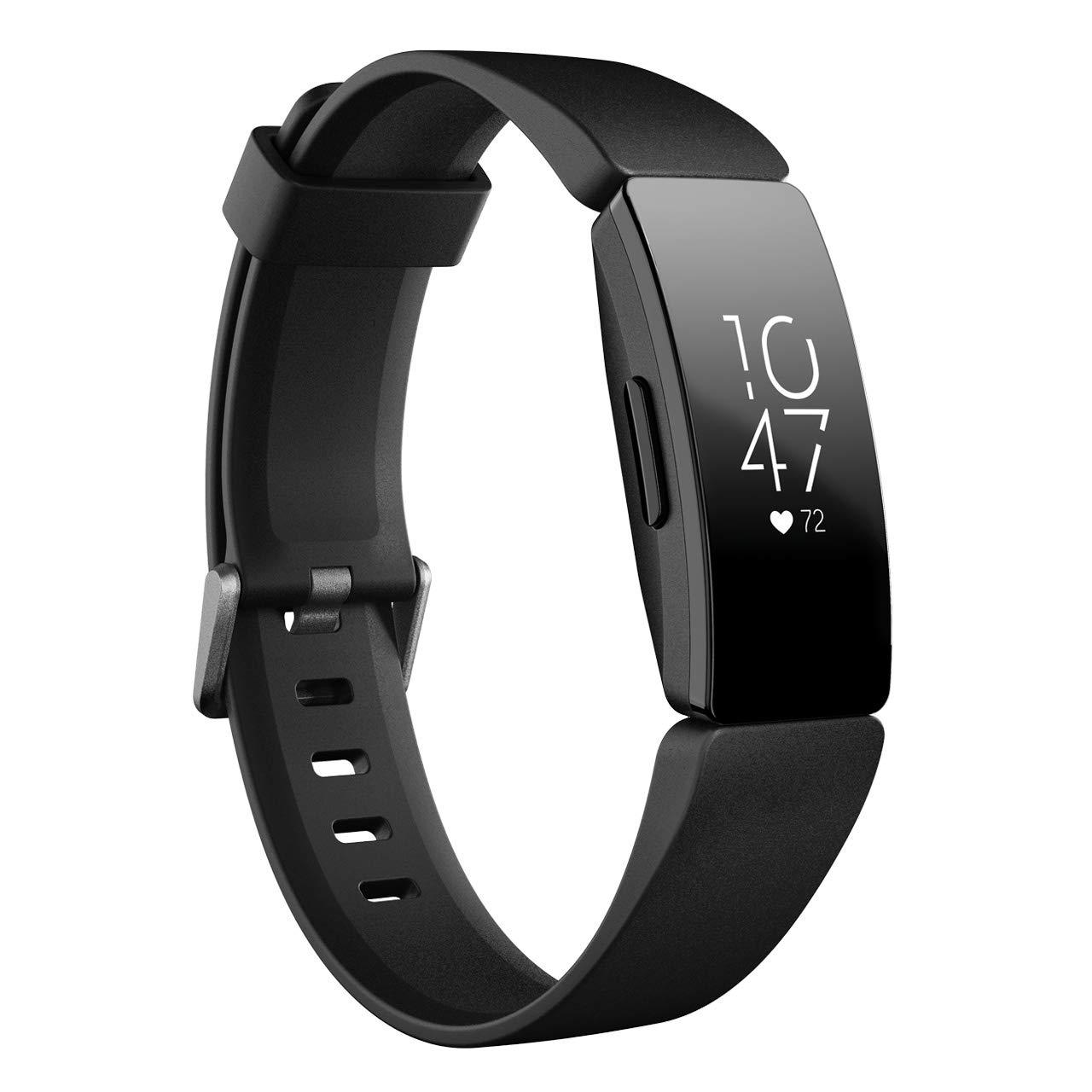 Fitbit InspireHR フィットネストラッカー Black L/Sサイズ  [日本正規品] FB413BKBK-FRCJK L/S Size Black B07P2Y68V7