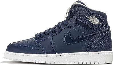nike air jordan 1 azul y blanco