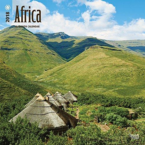 Africa 2018 Wall Calendar