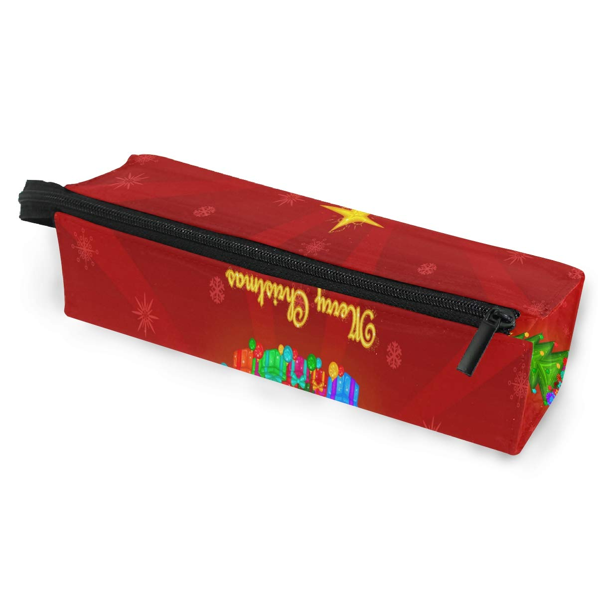 Glasses Case Christmas Wallpapers Portable Soft Sunglasses Ball Pen Bag Protective Pouch
