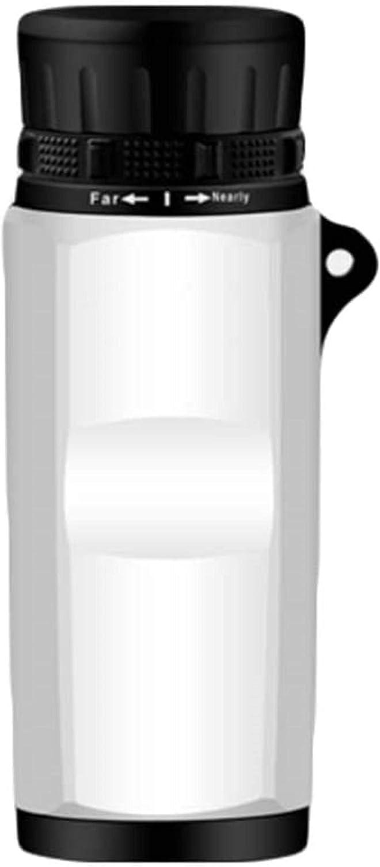 MWKLW Inicio Telescopio portátil Telescopio de teléfono móvil de un Solo Tubo de Alta Potencia Lente con Recubrimiento óptico Completo Telescopio de visión Nocturna de Viaje Impermeable HD