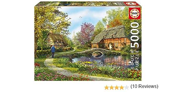 Puzzles Educa - Puzzle Casas De Campo, 5000 Piezas (16356): Amazon.es: Juguetes y juegos