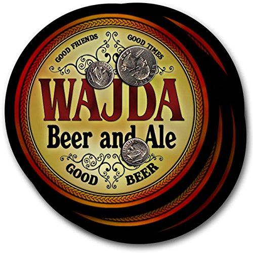 Wajdaビール& Ale – 4パックドリンクコースター   B003QXKQFC