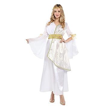 ZYFDFZ Traje de Cosplay Athena Queen Queen Vestido de ...
