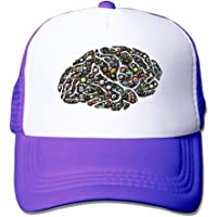 deyhfef Sports Brain Adjustable Trucker Sun Sombreros Mesh
