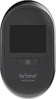 Brinno SHC1000W DUO PeepHole Camera Spioncino Digitale per Porte con Funzione di Registrazione Foto, Wireless, Monitor Interno da 2.7', Nero