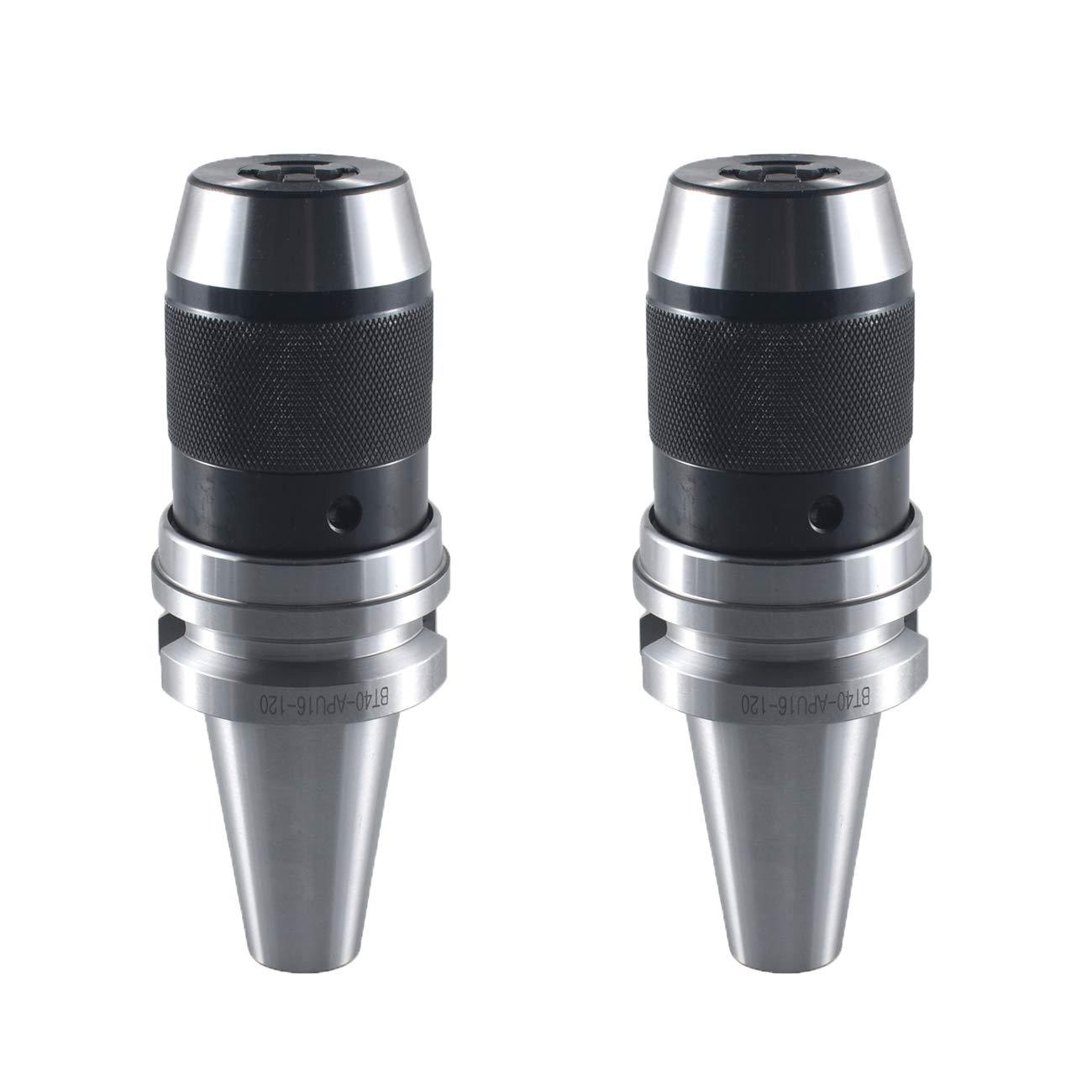 BT40-APU16-120 keyless drill chuck Integrated Shank Arbor BT40 APU16 120L