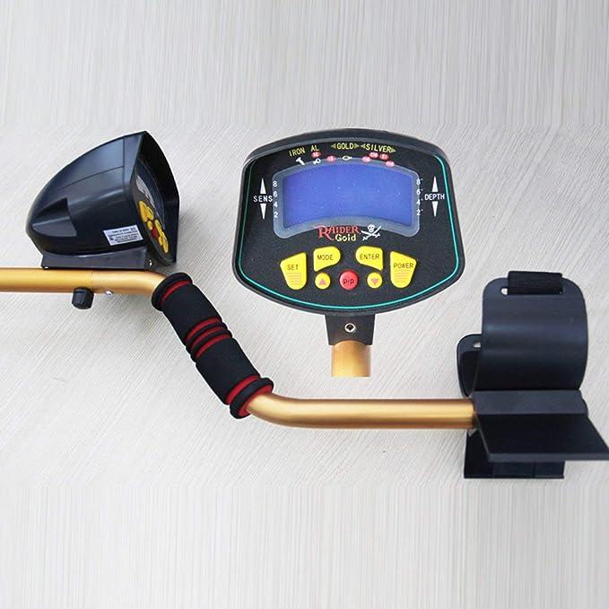 Detector De Metales, Alta Sensibilidad Meterk Detector para Adulto y Principiantes MD-3010II: Amazon.es: Bricolaje y herramientas