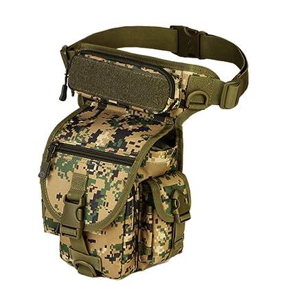 Heligen Militar Táctica Mochila Multifuncional Bolsa Táctical Bolsa de Pierna Multifuncional Estilo Militar Táctical Bolso de