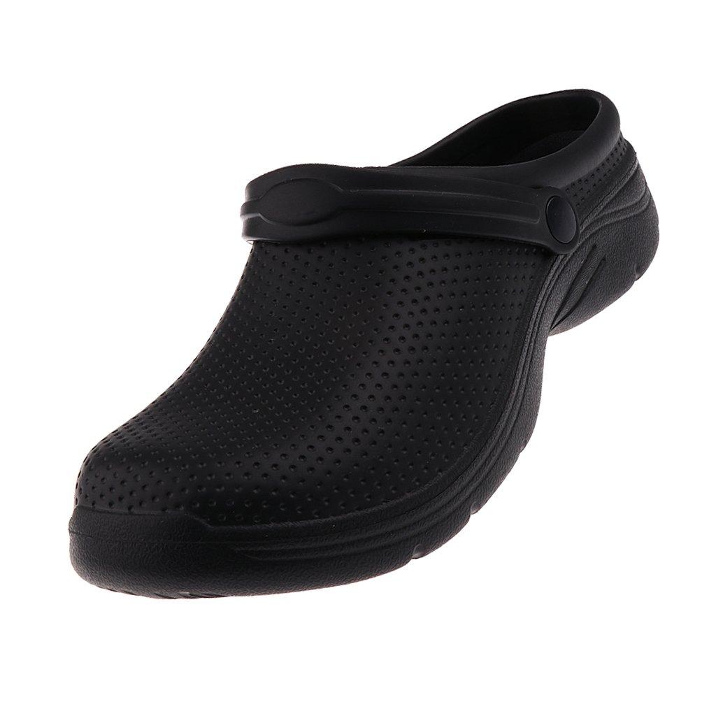 Hyun times 単一の靴深い口女性の防水プラットフォームブラック尖った靴で11.5センチメートルハイヒール B07C92J6HQ  ブラック 38