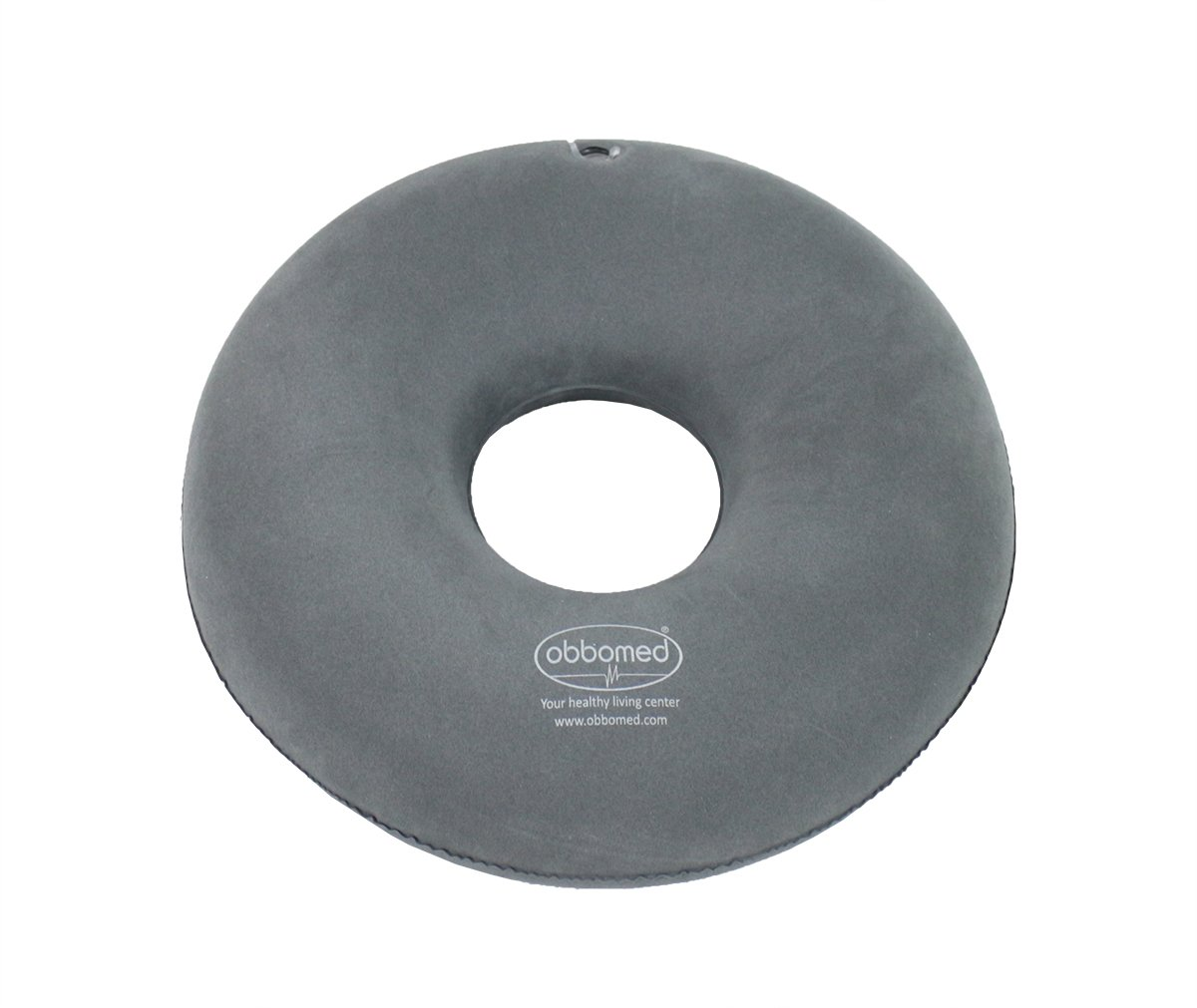 ObboMed SV-2500 (15'') Folding Inflatable Portable Ring Donut Seat Pillow Cushion – Relieves pain from hemorrhoids, Tailbone and Coccyx, bed sores, perineal pain, sciatica post child birth by ObboMed (Image #4)