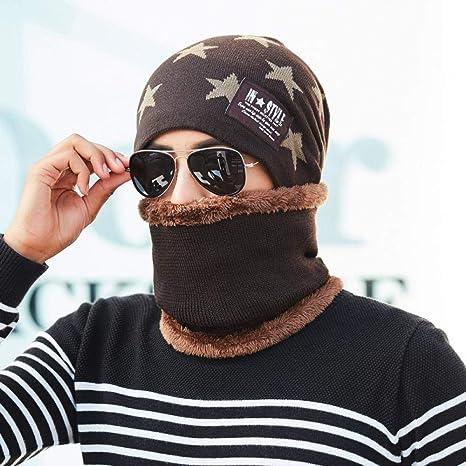 Sombreros de Acampada y Marcha para Hombre Gorro Babero de Punto ...