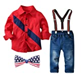 Christmas Outfits for Toddler Boys Plaid Shirts