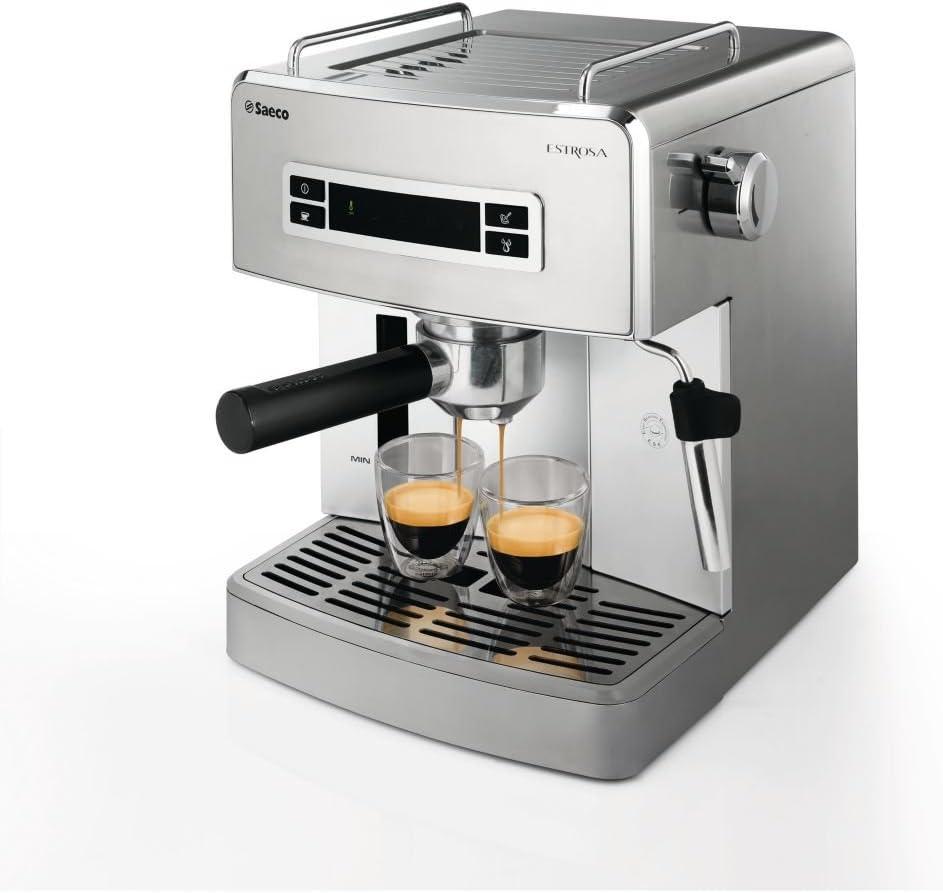 Saeco Estrosa - Cafetera (Espresso machine, Independiente, Acero ...
