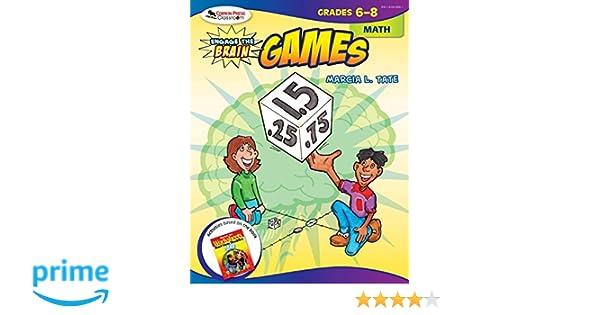 Math Worksheets math worksheets online free : Amazon.com: Engage the Brain: Games, Math, Grades 6-8 ...