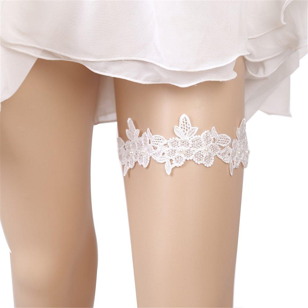 Wedding Lace Garter Set For Bridal And Bridesmaid (02)