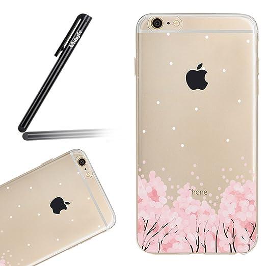 3 opinioni per Cover iPhone 7/8 plus Custodia TPU Silicone Cassa Gomma Soft Silicone Case