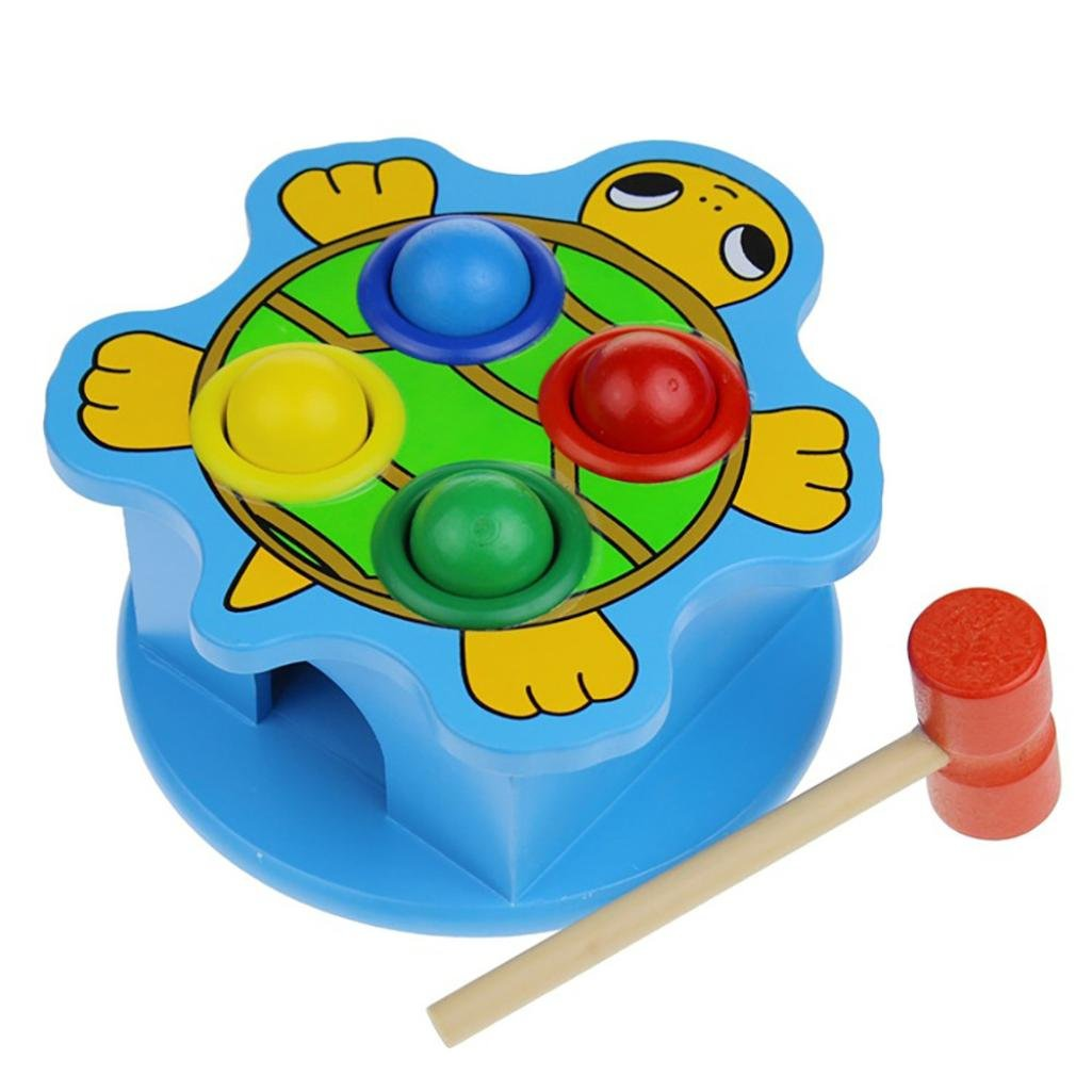 Fiaya Whac-a-mole Ball Game Fast Reflexes Language Learning Durable Turtle Decompression Toy