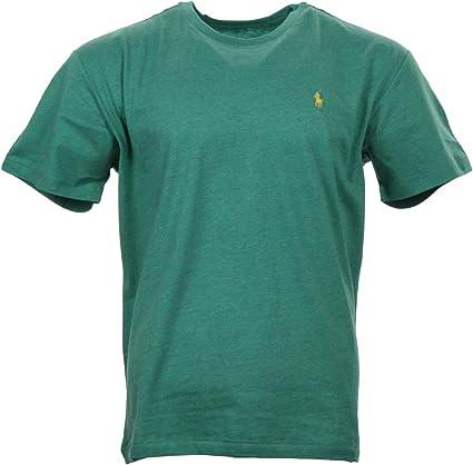 Ralph Lauren - Camiseta de cuello redondo, color verde con ...