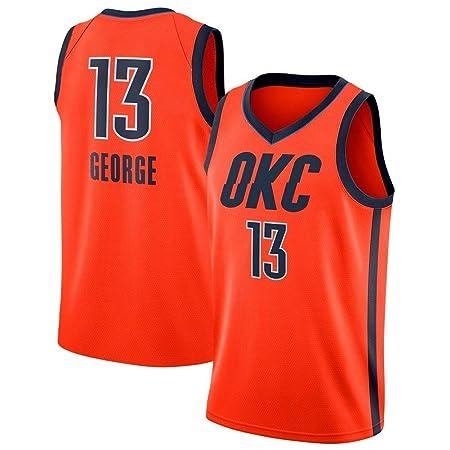 JERSEY-BX Camisetas De Baloncesto para Hombre - NBA Oklahoma City ...
