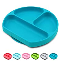Baby Dröm Suction Plates for Babies, Toddlers, Silicone Placemats for Kids That...