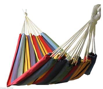 hammock for several people 210 x 150 cm red hammock for several people 210 x 150 cm red  amazon co uk  garden      rh   amazon co uk