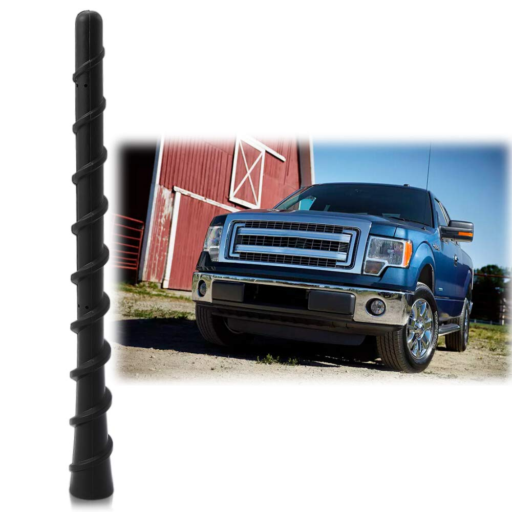 Antenna Mast Perfect Replacement Screw Thread Antenna Fit Ford F-150 F150 Truck Short Antenna Accessories 2009-2019 Thie2e