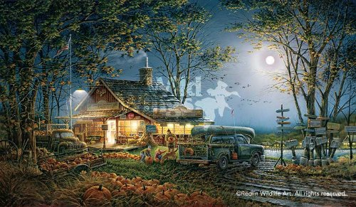 Autumn Traditions by Terry Redlin Limited Edition Print of 9500 Signed & Numbered