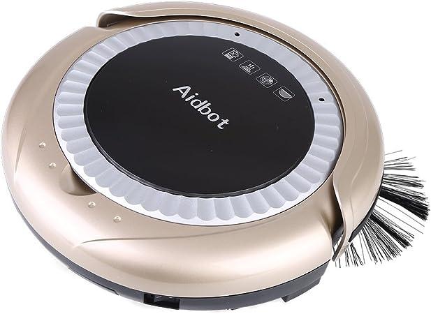 Robot limpiador, Robot aspirador inteilligent de limpieza para todos los suelos aspirador potente Sensor con sistema de navegación láser Anti-Collision para pelo polvo: Amazon.es: Hogar