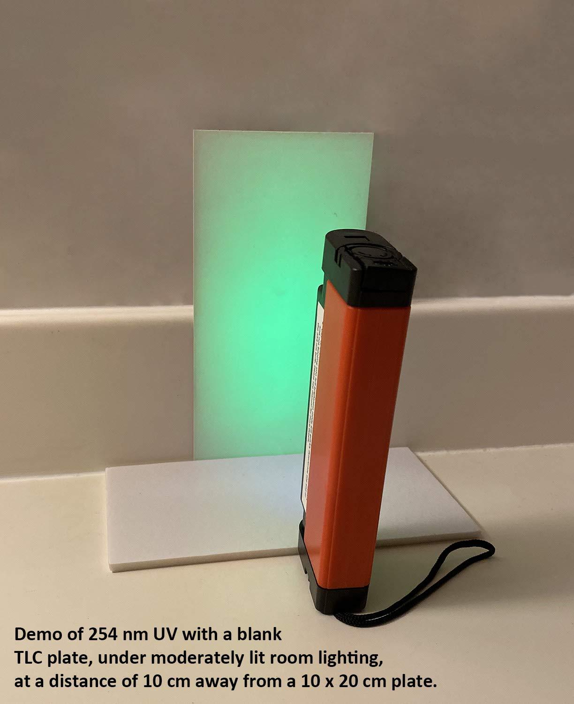 Uv Lamp 254nm 365nm 4w Portable Uva Uvc Shortwave Longwave Lab