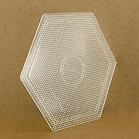 ARTKAL Beads 2.6mm Mini Pegboards Large Hexagon Pegboard BCP02