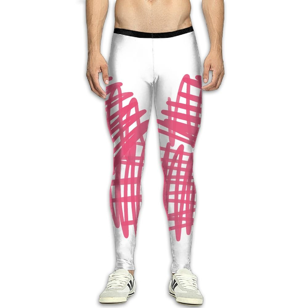 Fri Love Shape Base Layer Compression Pants//Running Tights Baselayer Pants Men Guys Side Pocket