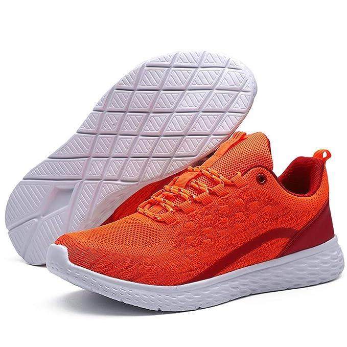 2019 - Zapatillas de correr para hombre con malla ...