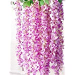 Miyaya-24-Pieces-Realistic-Artificial-Silk-Wisteria-Vine-Ratta-Silk-Hanging-Flower-Plant-for-Home-Party-Wedding-Decor-and-Other-Various-Events