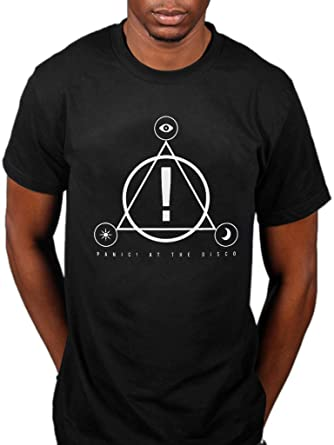 ab35a27fa Official Panic at The Disco Icons T-Shirt: Amazon.co.uk: Clothing