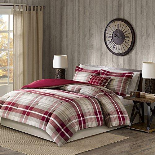 Plaid Queen Comforter Set - Woolrich Sheridan Comforter Set,