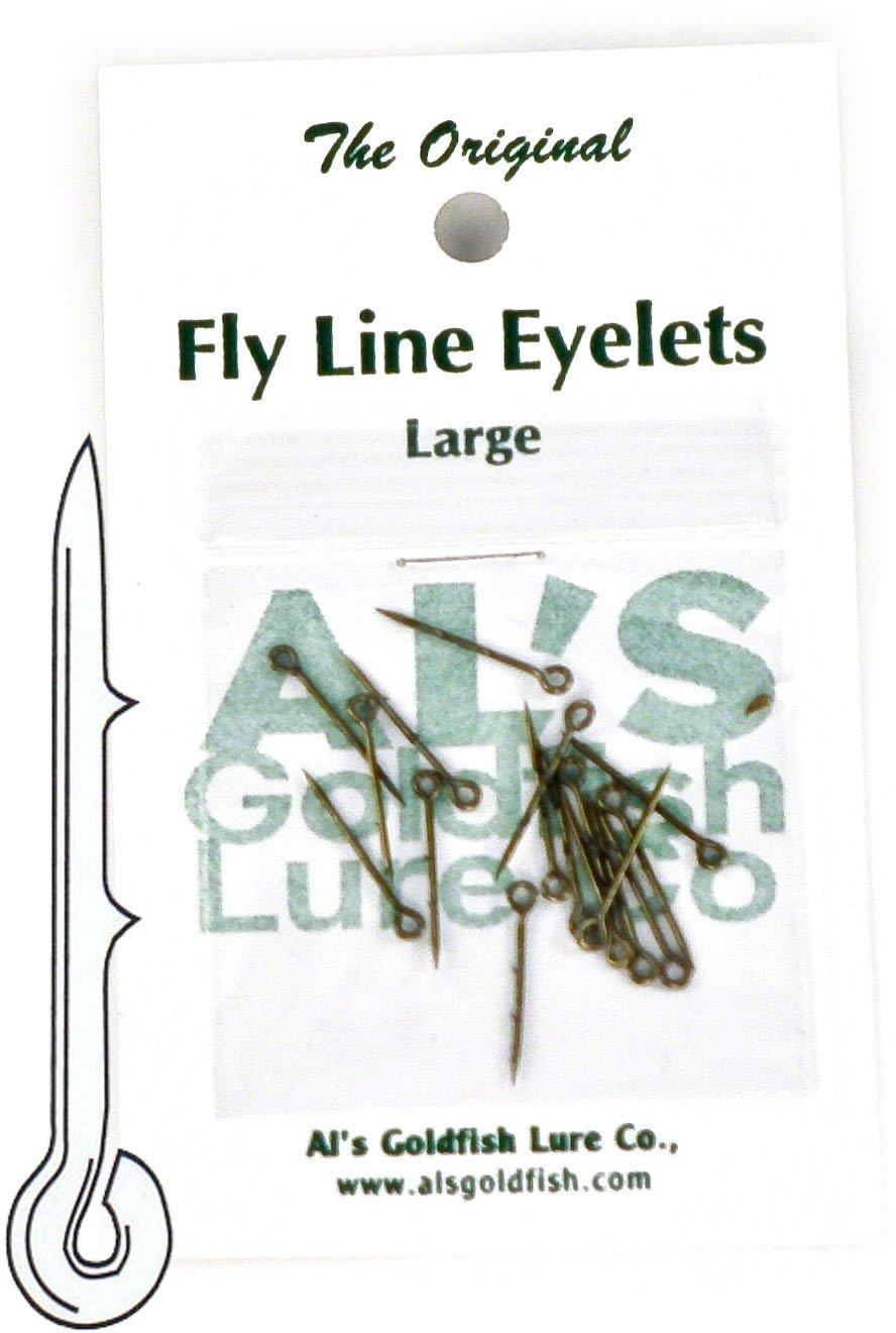 Al's Goldfish Lure Co. FL24-2 フライラインアイレット シルバー仕上げ   B0084EBR4M