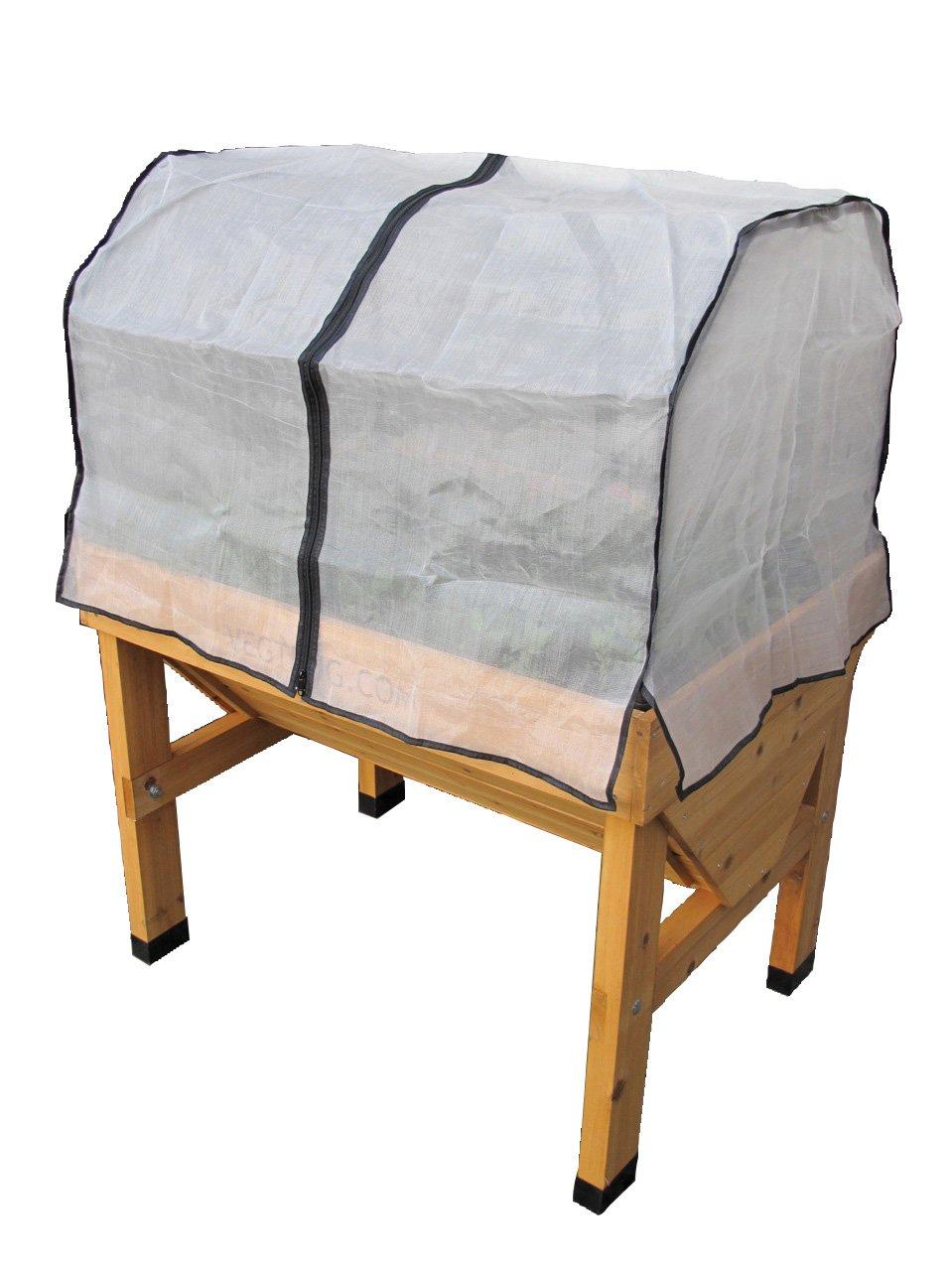 VegTrug Small Wall hugger Greenhouse Micromesh Cover