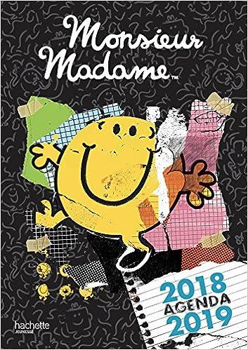 Monsieur Madame Agenda 2018 2019 Amazon Fr Roger