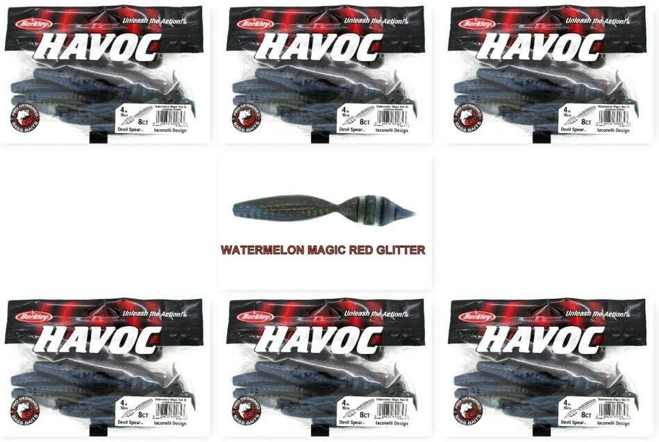 Berkley Havoc Devil Spear Bait Pack of 8