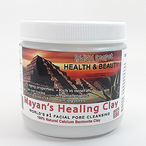 Mayan Secret - Indian Healing Clay - Deep Pore Cleansing Facial & Healing Body