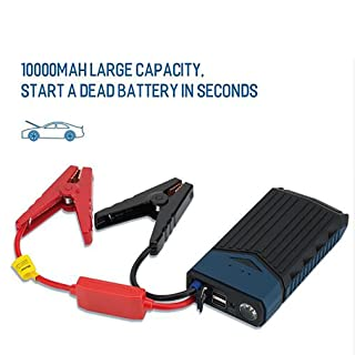 10000Mah Car Jump Starter Portable Emergency Battery Charger Mobile Power Bank Battery 400A Peak Current